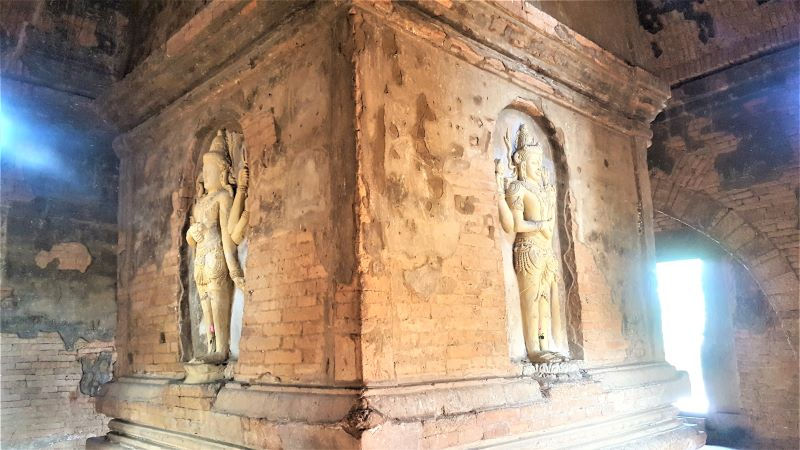 Indian Temple- the only one standing in Old Bagan