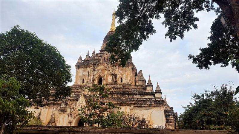 Temple in Old Bagan, Myanmar