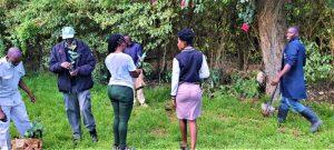 Enviro Wild and Lake Naivasha Crescent camp staff